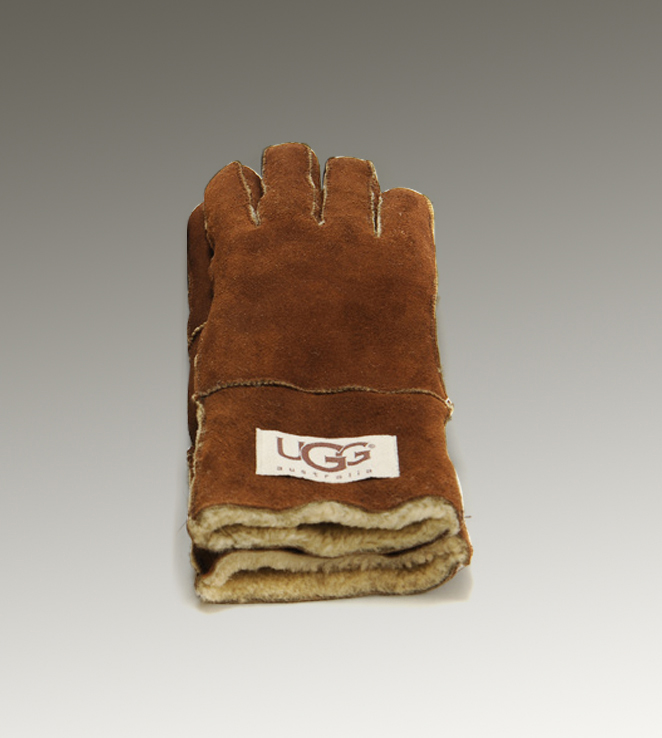 UGG Turn Cuff 6740 Chestnut Glove